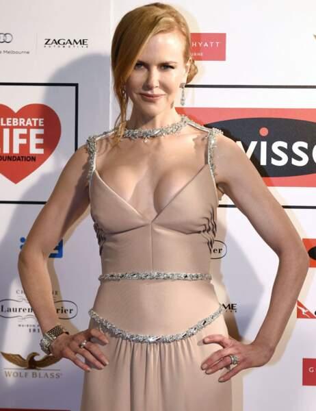 Nicole Kidman était à Melbourne pour le gala Swisse celebrate life