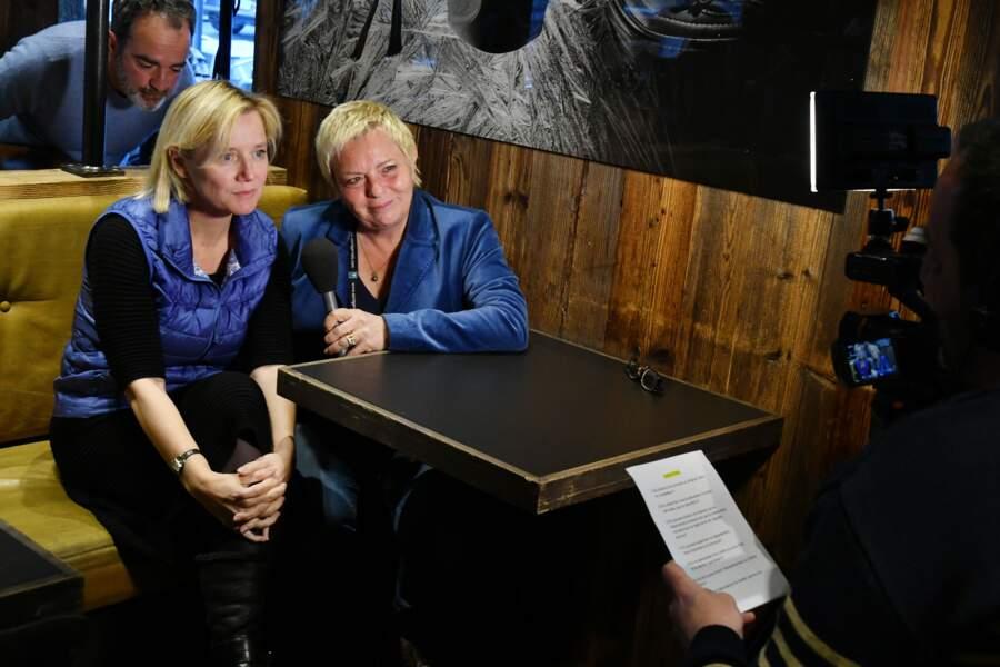 Isabelle Roche et Catherine Salvador au 35ème festival Mont-Blanc Humour