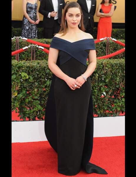 La mère des dragons dans la série Game Of Thrones, Emilia Clarke