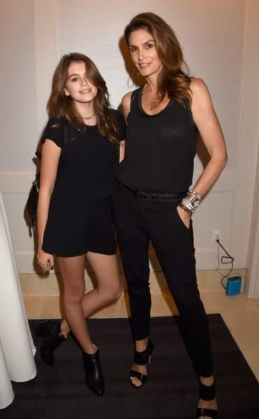 Cindy Crawford et Kaia Gerber : mannequins de mère en fille !