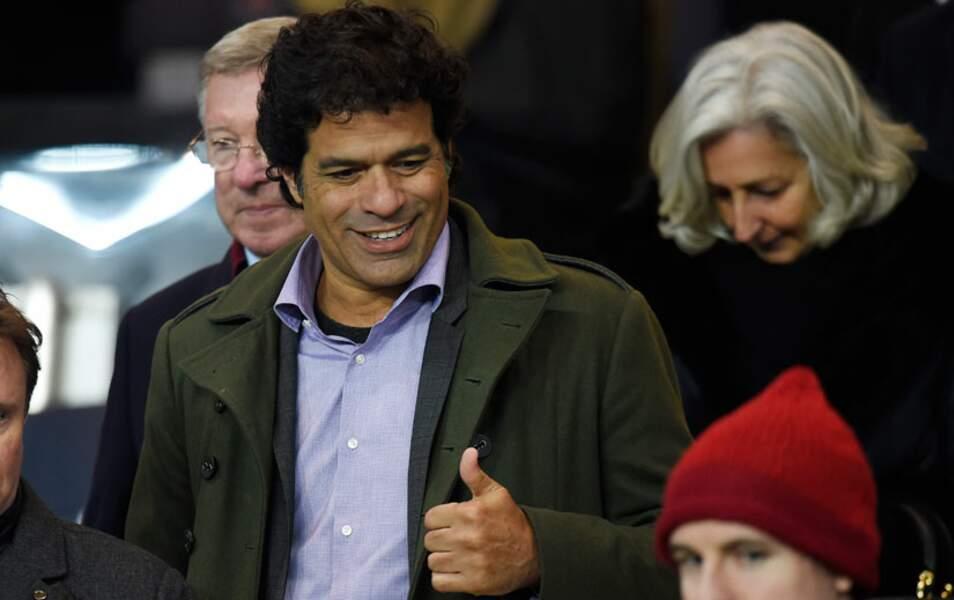 Raí, ancien joueur du PSG, était venu admirer la relève