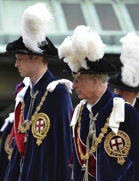 Fondé en 1348, cet Ordre est limité au souverain, au prince de Galles et à un maximum de 24 autres personnes