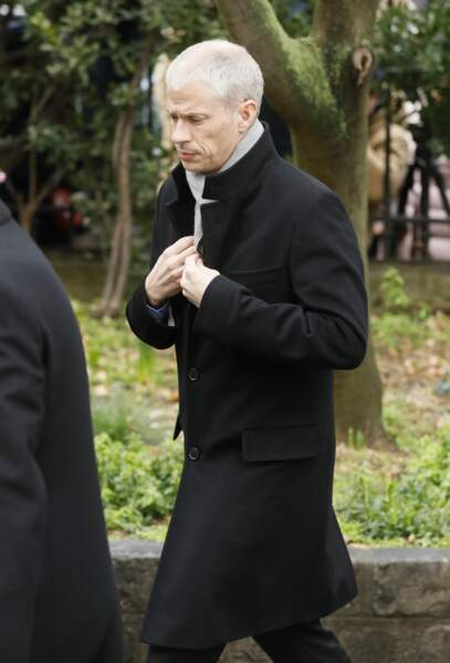 Obsèques de Michel Legrand à Paris : Franck Riester, ministre de la Culture