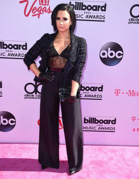 Les don'ts de la semaine : le pantalon large - Demi Lovato