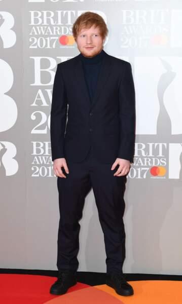 Brit Awards 2017 : Ed Sheeran