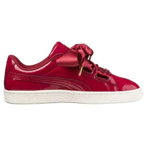 Sneakers vernies, Puma, 89,90€ sur laredoute.fr