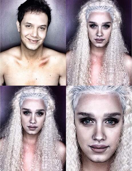 Paolo Ballesteros en Khaleesi (Game of Thrones)