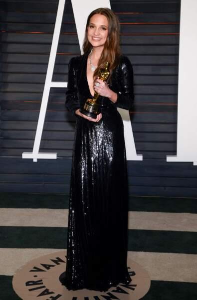 Victoria's Secret : c'est la Suédoise Alicia Vikander qui a reçu le titre d'import international le plus sexy