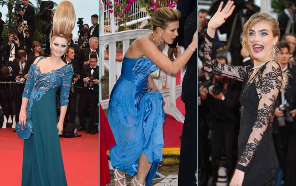 Le bêtisier du Festival de Cannes 2013