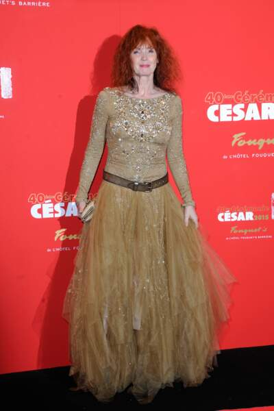 Peau d'Âne a prêté sa robe couleur de soleil à Sabine Azéma en 2015