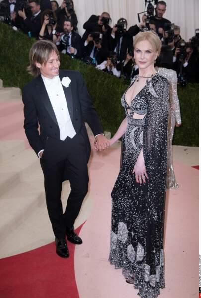 Keith Urban and Nicole Kidman en Alexander McQueen