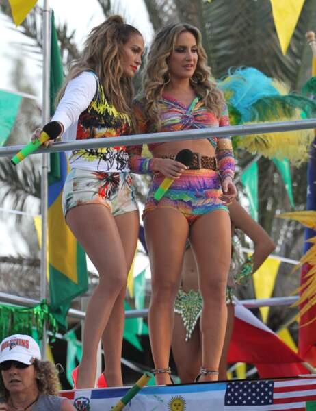 Jennifer Lopez et la star brésilienne Claudia Leite