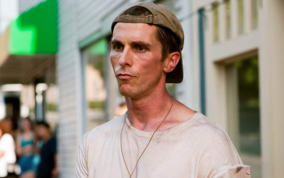 Christian Bale en malnutrition sévère (dans Fighter)