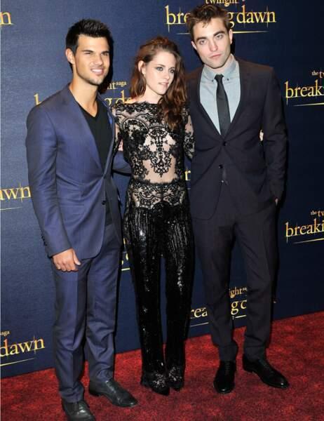 Taylor Lautner, Kristen Stewart et Robert Pattinson