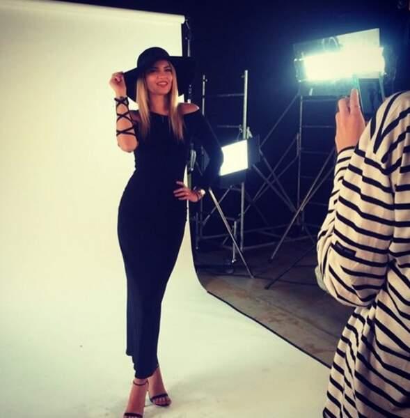 L'ex-participante à Miss Ile-de-France en 2016 enchaîne les shootings