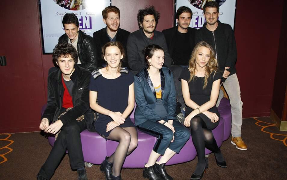 Les acteurs du film Eden