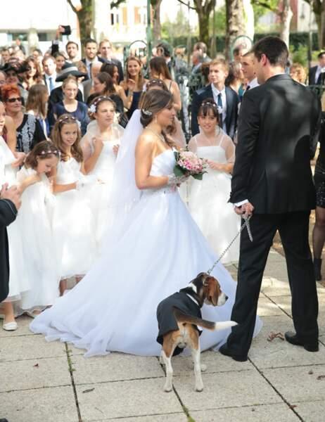 La mariée est là, on peut y aller
