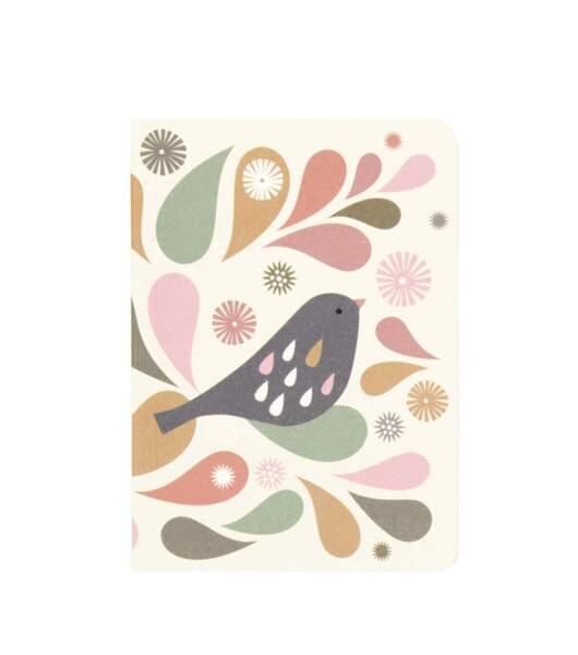 Carnet oiseau. 7 €, minilabo.fr