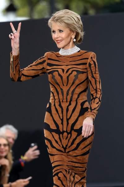 Le Défilé L'Oréal Paris show - Jane Fonda