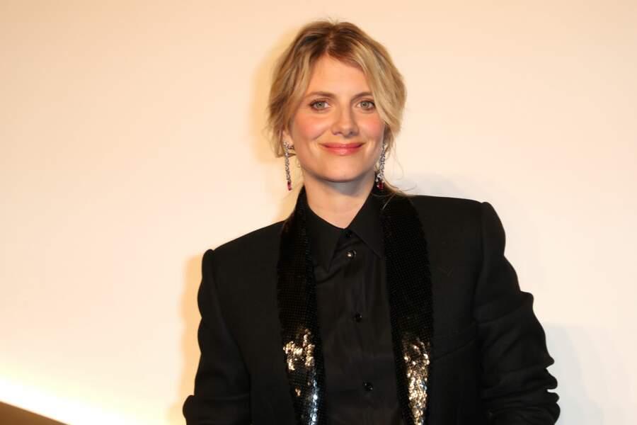 Melanie Laurent au dîner Cartier, le 10 avril 2019 à la Conciergerie de Paris