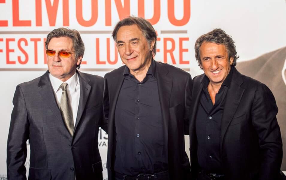 Daniel Auteuil, Richard Berry et Richard Anconina
