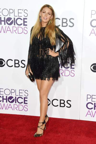 People's Choice Awards 2017 : Blake Lively, sublime (comme toujours) en Elie Saab