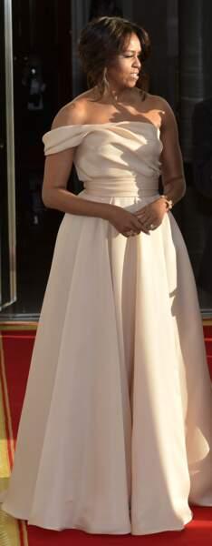 Michelle Obama en Naeem Khan