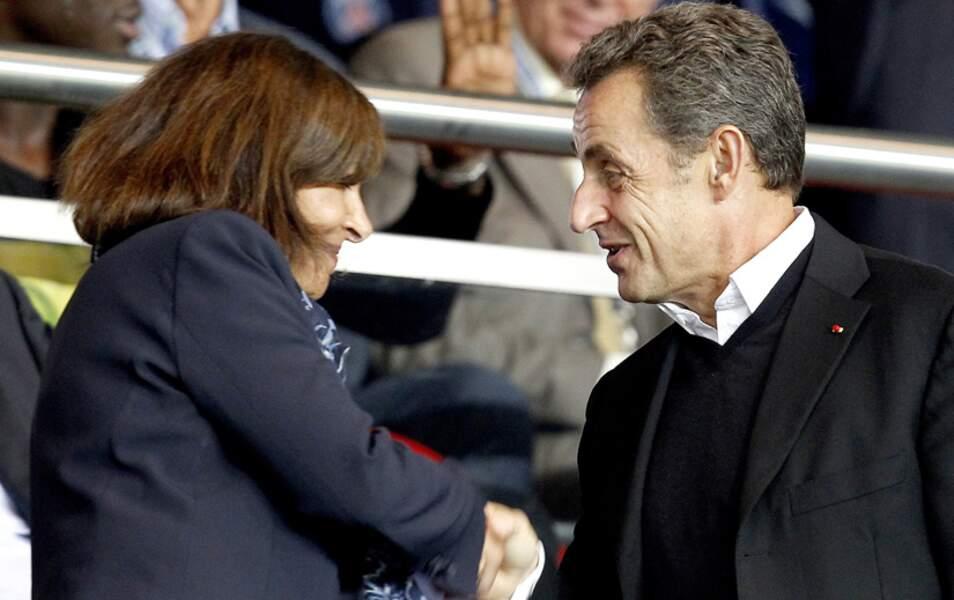 Puis avec la Maire de Paris, Anne Hidalgo