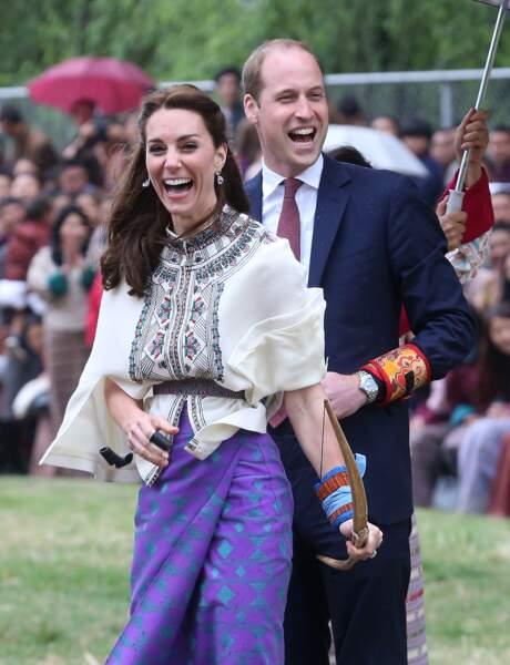 Kate Middleton est morte de rire