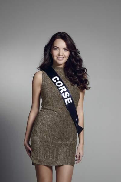 Miss Corse : Laetitia Duclos – 19 ans