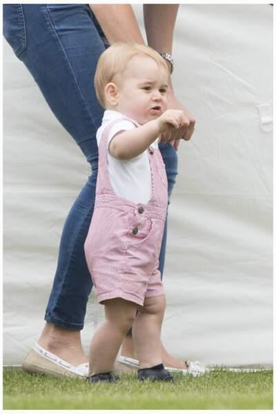 Le prince George, photographié le 15 juin 2014