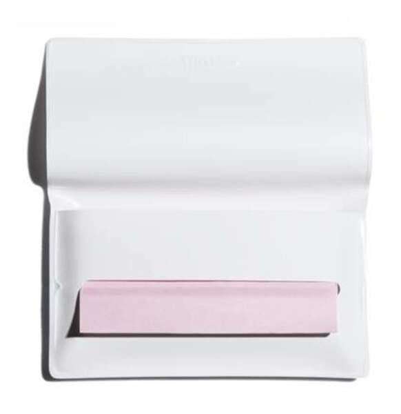 Retouches matifiantes, Shiseido, 24€ les 100 papiers