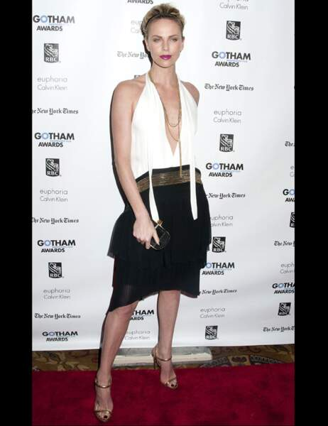Charlize Theron aujourd'hui...