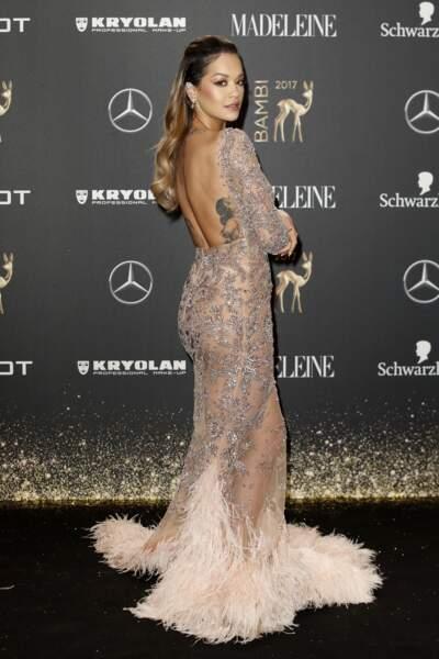 Les plus beaux tatouages sur le dos : Rita Ora