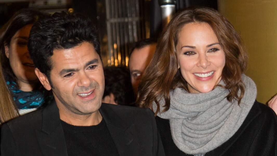 Jamel Debbouze et Mélissa Theuriau à l'avant-première du film La Vache