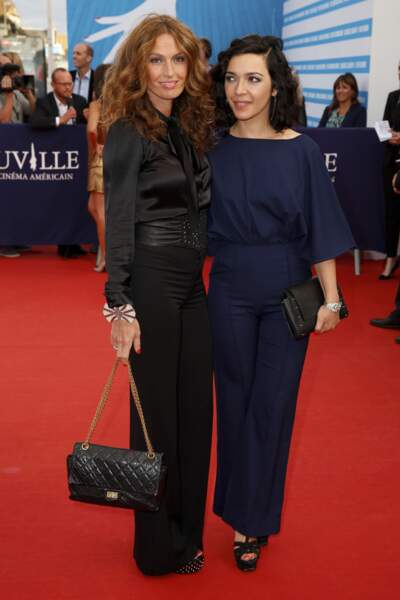 Les Brigitte Sylvie Hoarau et Aurelie Saada
