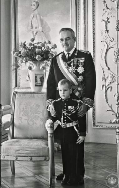 Rainer et Albert de Monaco