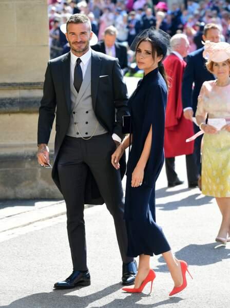 Son épouse, Victoria Beckham, était évidemment à ses côtés