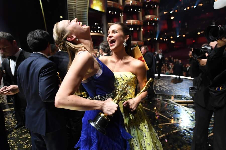 Brie Larson et Alicia Vikander étaient hilares