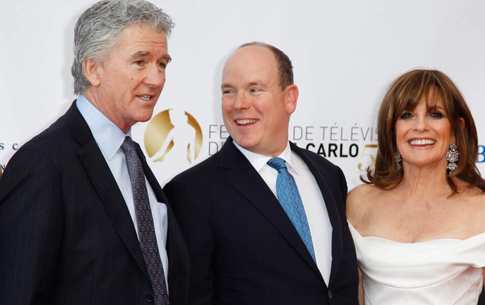 Le prince Albert II a choisi : il part à Dallas avec Patrick Duffy et Linda Gray