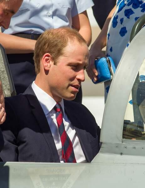 Le duc de Cambridge faisait aussi partie de la Royal Air Force