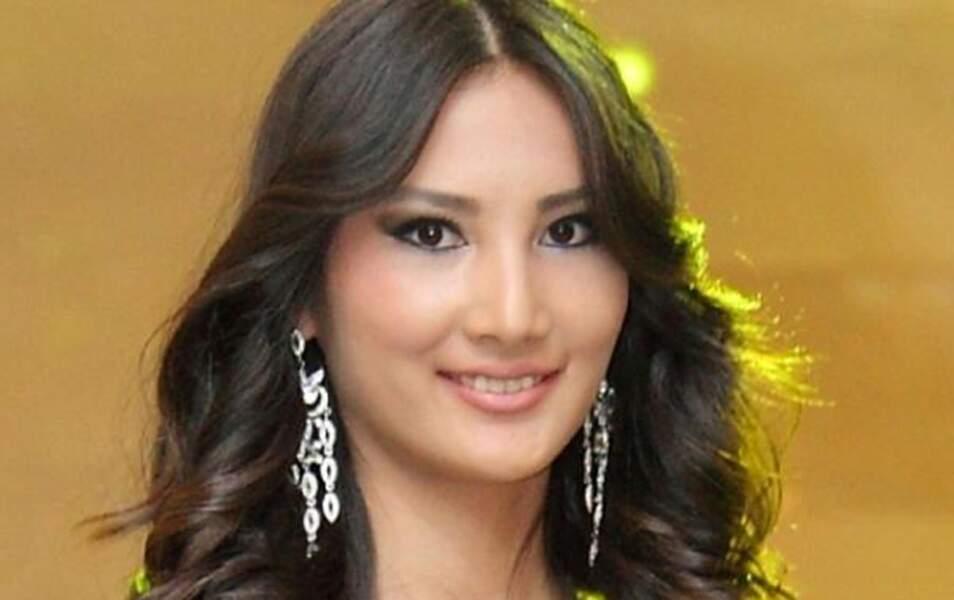 Miss Kirghizistan Zhibek Nukeeva, 19 ans, 1m78