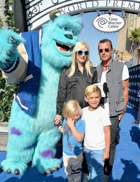 Sulli, Gwen Stefani, son mari Gavin Rossdale et leurs enfants Zuma et Kingston