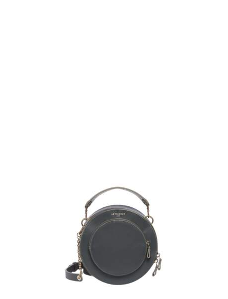 Sac rond modèle Lilou, Le Tanneur, disponible dès le mois de juin au prix de 189 euros