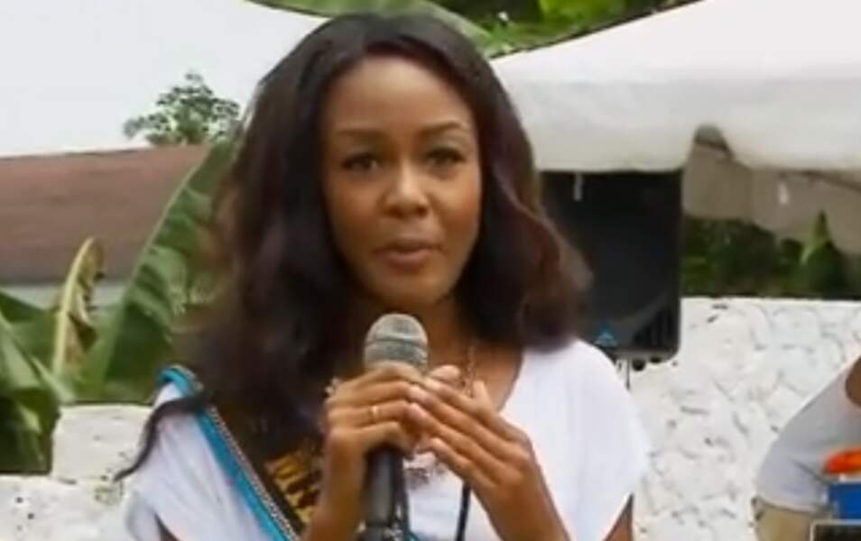 Miss Bahamas De'Andra Bannister, 24 ans, 1m78