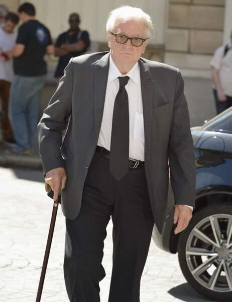 Roland Dumas aux obsèques de Jacques Vergès