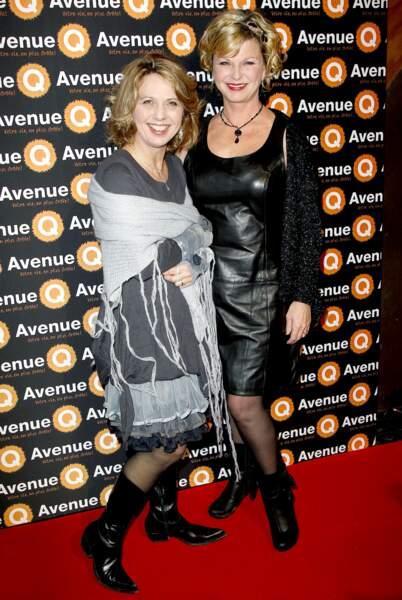 Jeane Manson et sa soeur Barbara