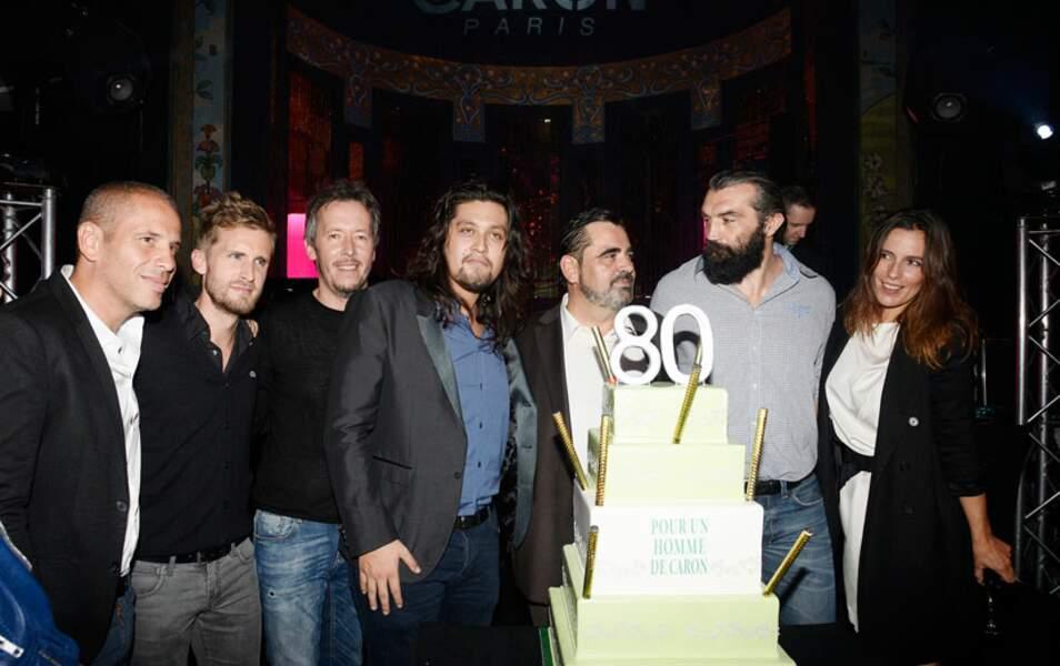 Medi Sadoun, Philippe Lacheau, Jean-Luc Lemoine, Lulu Gainsbourg, Romain Ales, Sébastien Chabal et ZOé Félix