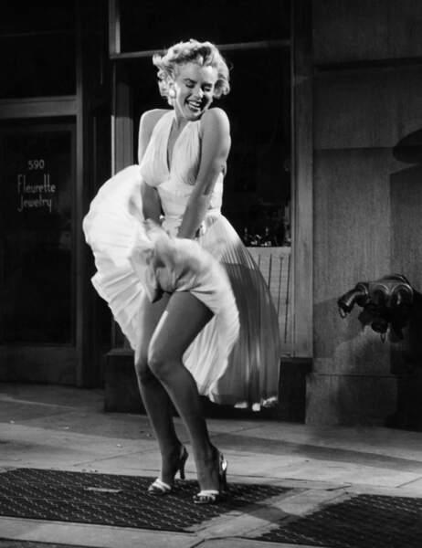 """Marilyn Monroe dans """"Sept ans de réflexion"""""""