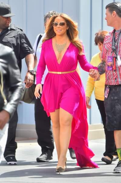 Mariah Carey fait son entrée